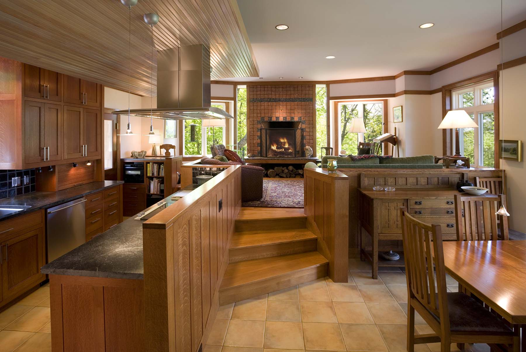 explorers road kitchen living dining